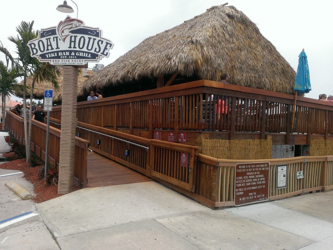 The Boat House Bar & Grill - great for breakfast