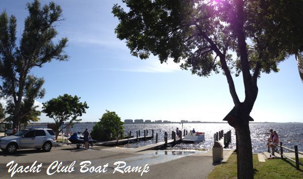 Cape Coral Yacht Club Boat Ramp
